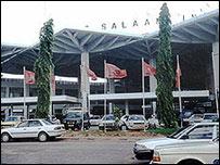 Dar airport