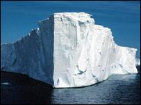 El colapso de la plataforma Larsen B