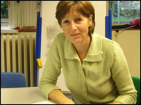 Head teacher Kathy Palmer