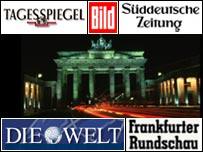 German press logos