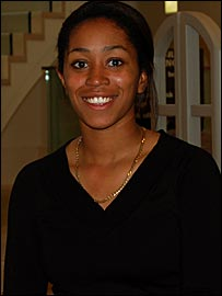 Ebony Rainford-Brent (pic courtesy of UCL)