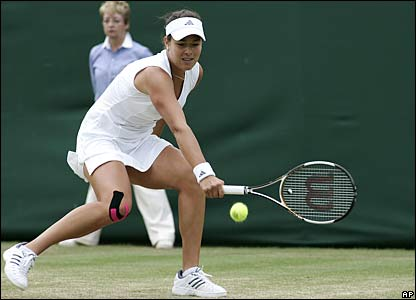 Ana Ivanovic of Serbia