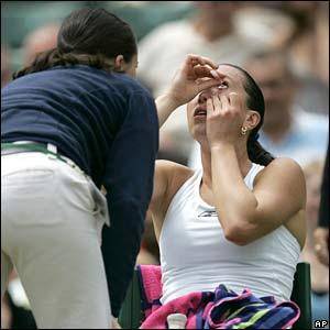 Number-three seed Jelena Jankovic
