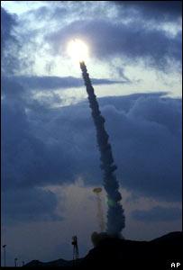 Missile defence test