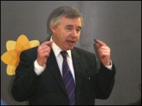 Plaid leader Ieuan Wyn Jones