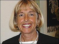 Mónica Zetzsche, presidenta del YWCA (Asociación Cristiana Femenina) Mundial