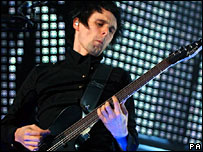 Muse frontman Matt Bellamy