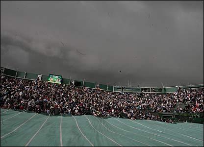 Dark clouds over Wimbledon