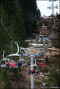 Ski lift in Switzerland (Getty Images)
