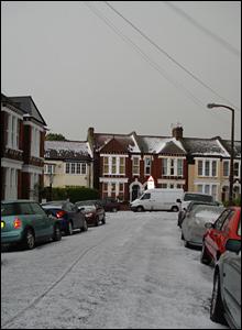 Shamrock Street in Clapham. Copyright John Ellis