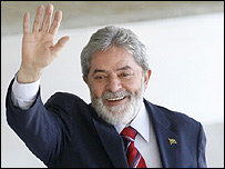 El presidente brasileño, Luiz Inácio Lula da Silvia