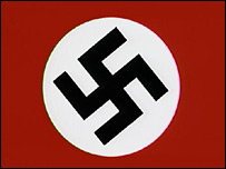 The Nazi version of the swastika