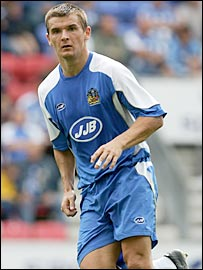 Wigan midfielder Lee McCulloch