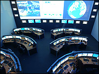 Columbus control centre - Esa picture