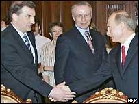 Третьяк, Фетисов и Путин