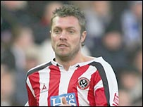 Sheffield United striker Geoff Horsfield