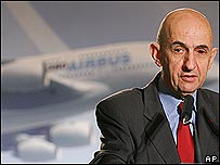 Louis Gallois, Airbus chief executive