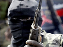 Militant in the Niger Delta