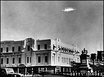 UFO over Bulawayo in then-Rhodesia