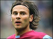 Aston Villa's Patrik Berger