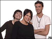 Jackiey Budden, Jade Goody and Jack Tweedy
