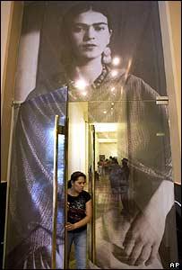 Frida Kahlo, exhibici�n en M�xico
