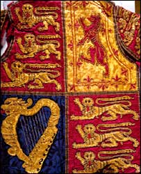Tabard - copyright of the Office of the Chief Herald of Ireland.