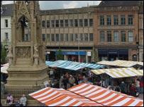 Mansfield market