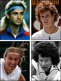Tennis haircuts