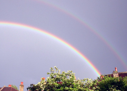 Rainbows over London