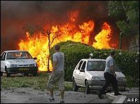 Hezbollah rocket attack on Haifa