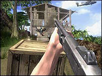 Screenshot of Ubisoft's Far Cry game
