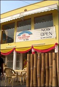 Marie Claire Rimpel's restaurant, The Caribbean