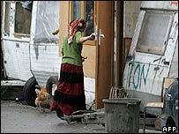 A Roma woman