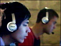 Young gamers in France