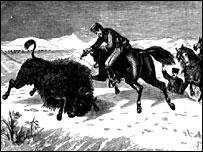 Великий князь Алексей убивает своего первого бизона