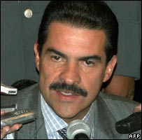 Cochabamba Governor Manfred Reyes Villa: File photo