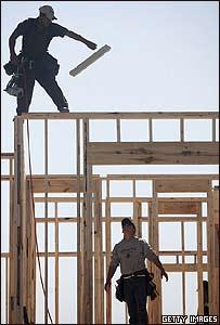 Construcción de viviendas en EE.UU.