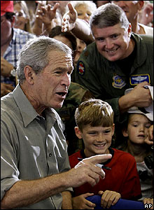 President Bush in West Virginia