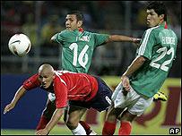 Imagen del encuentro entre M�xico y Chile