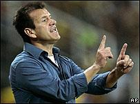 El entrenador de Brasil, Dunga