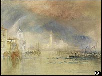 Venice: Looking towards the Dogana and San Giorgio Maggiore by JMW Turner