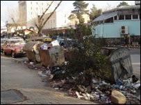 Tirana street scene