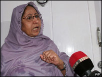 Dr Zakia Ahmed, mother of Sabeel Ahmed