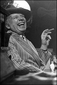 George Melly, 1983