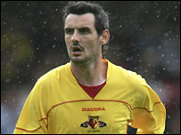 Matthew Spring in action for Watford