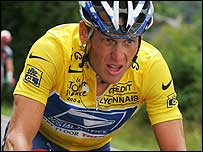 Lance Armstrong cycling