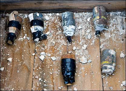 Deactivated bomblets