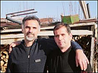 Budmir Jankovic and Xhevap Ameti