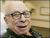 Art Buchwald in a May 2006 file photo